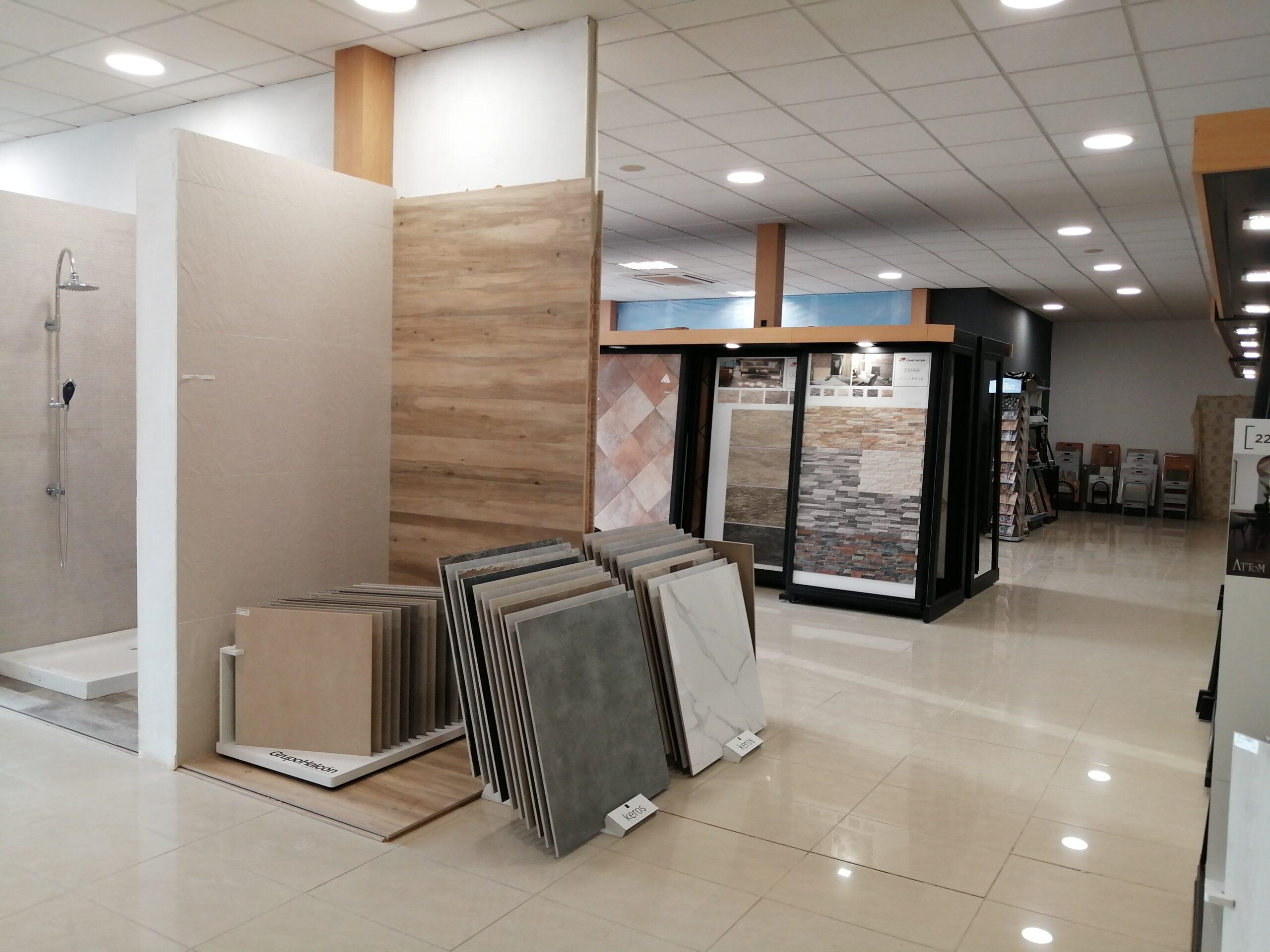 exposicion materiales de construccion